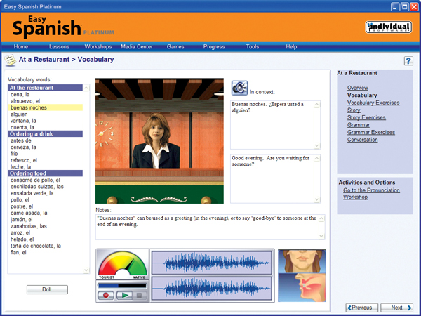 Easy spanish learn spanish today individual software 2999 m4hsunfo