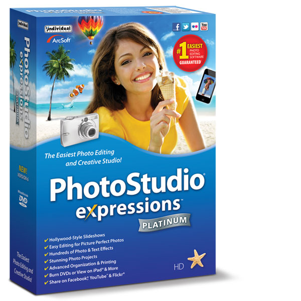 Individual software inc photostudio expressions 4 web panoramas slide show movies sm box