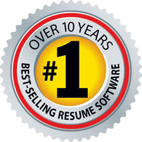 #1 Best-Selling Resume Software