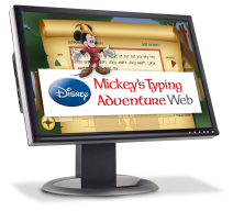 Disney: Mickey's Typing Adventure Web