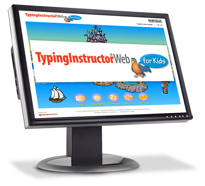 Individual Software: Typing Instructor Web For Kids
