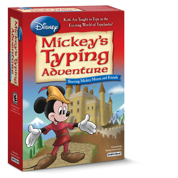 Disney: Mickey's Typing Adventure – Windows