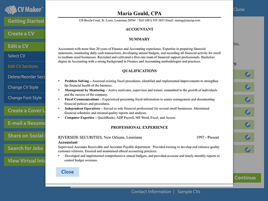 Write a Better Resume: Resume Maker for iPad | Individual Software