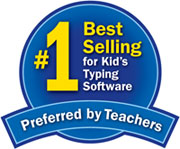 #1 Best Selling for Kid's Typing Software