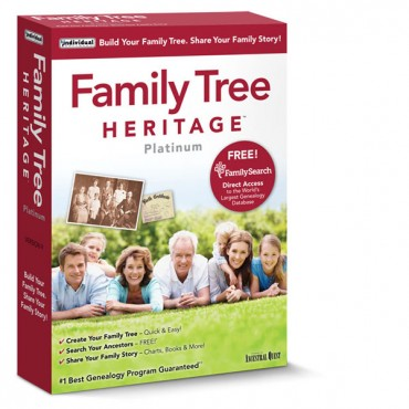 Family Tree Heritage ™ Platinum 9