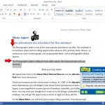 Word Lesson: Creating and Editing Text