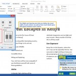 Word Lesson: Designing Page Layouts