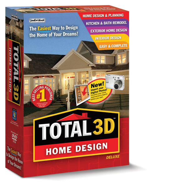 Total 3D Home Design Deluxe | Individual Software
