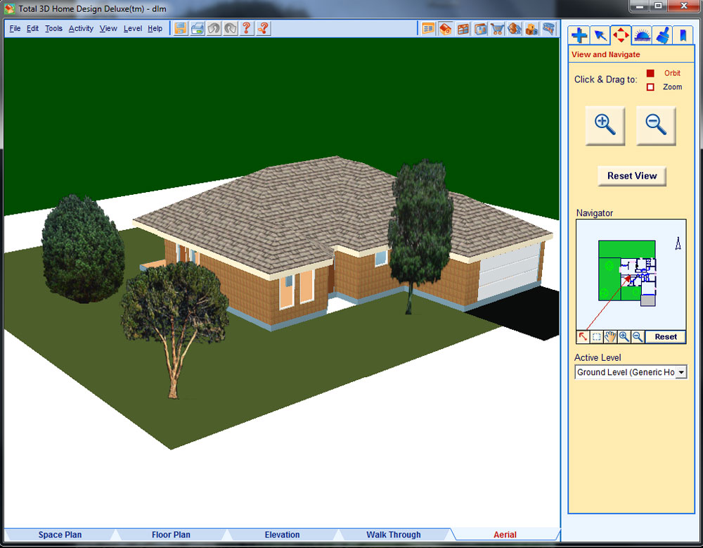 Total 3d Home Design Deluxe Individual Software