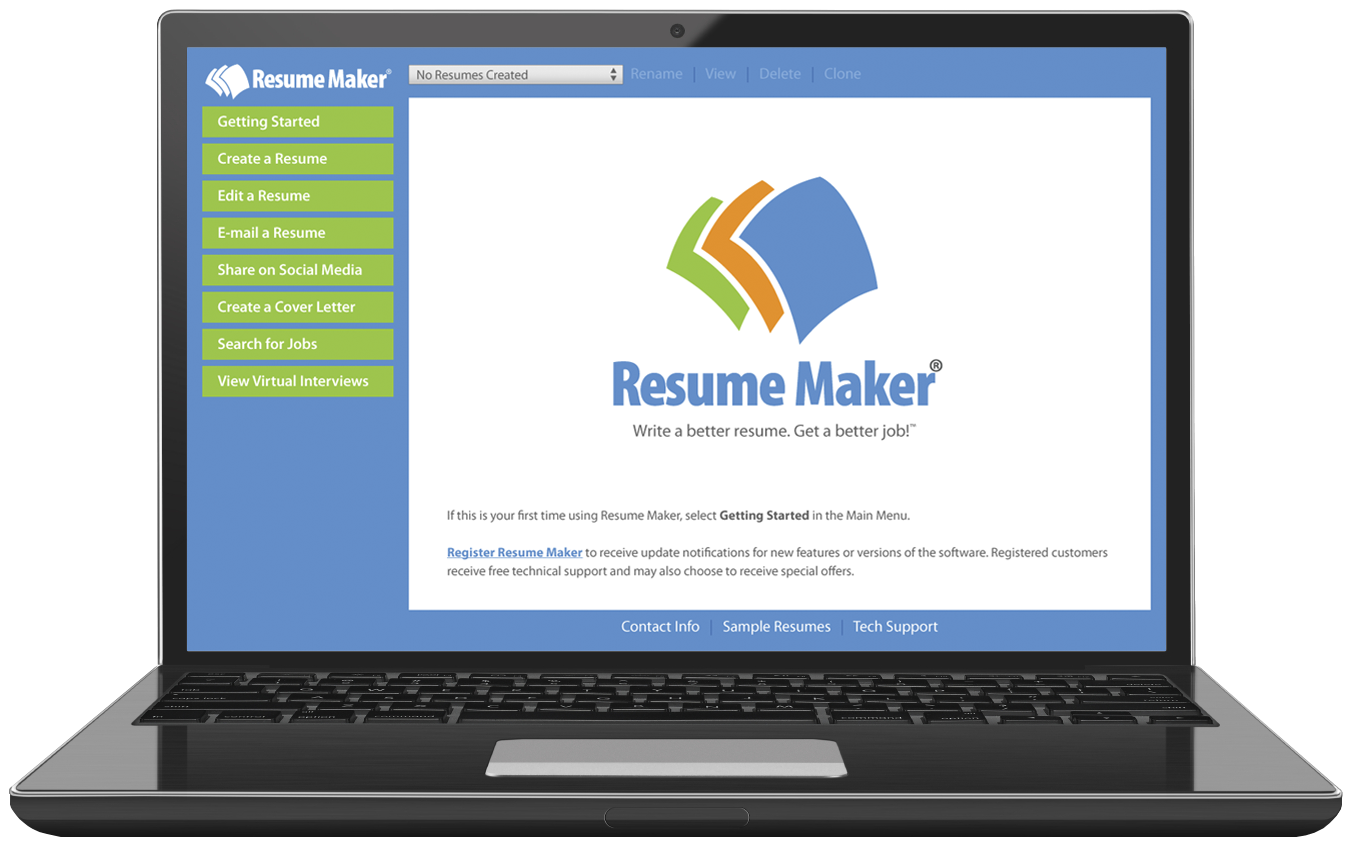 resume career individual software resume maker® for windows