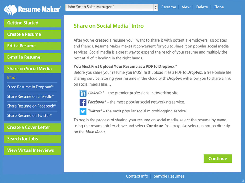 Resume Maker® For Mac. $19.99