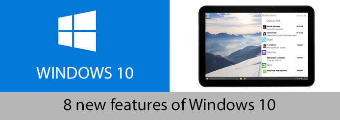 8 new features win 10