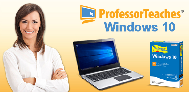 Professor Teaches Windows 10