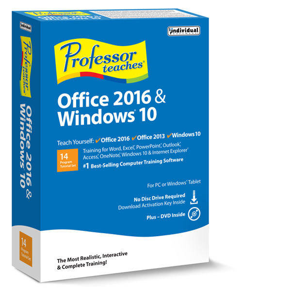 Professor Teaches® Office 2016 & Windows® 10