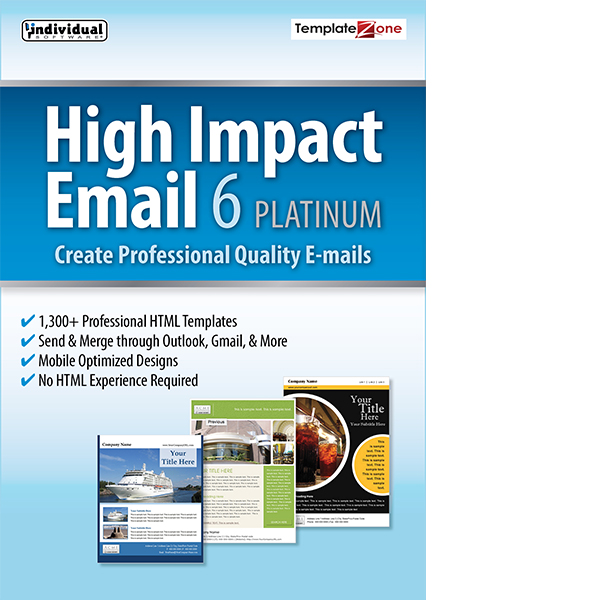 High Impact Email 6 Platinum