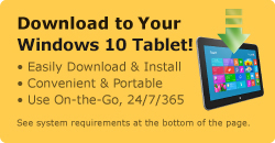 Download to Your Windows 10 Tablet