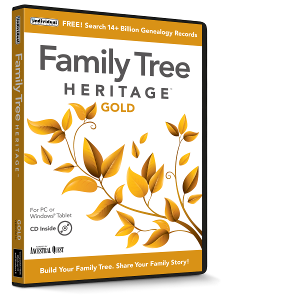 Family Tree Heritage Gold
