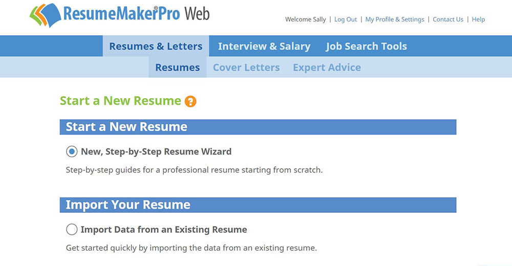 Write a Better Resume ResumeMakerPro Web Individual Software