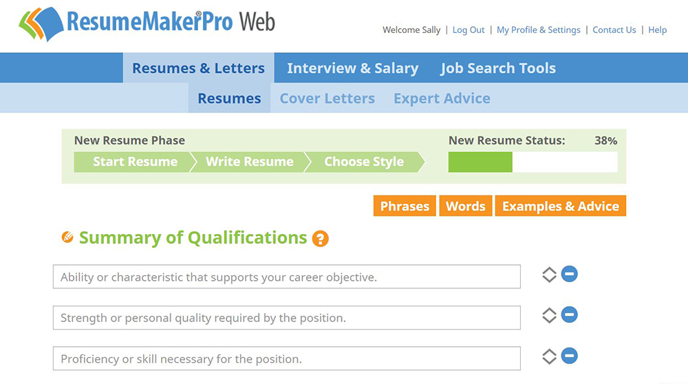 resumemaker professional web 699 monthly subscription resume maker pro