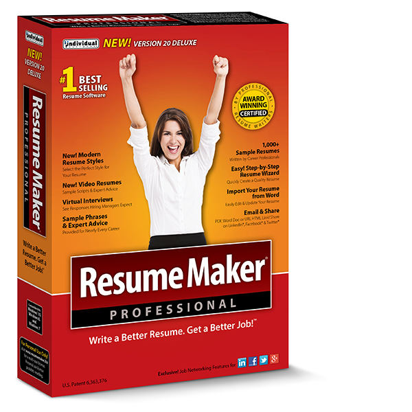 ResumeMaker® Professional Deluxe 20  Resume Maker Pro