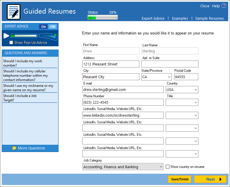 Write a Better Resume: ResumeMaker | Individual Software
