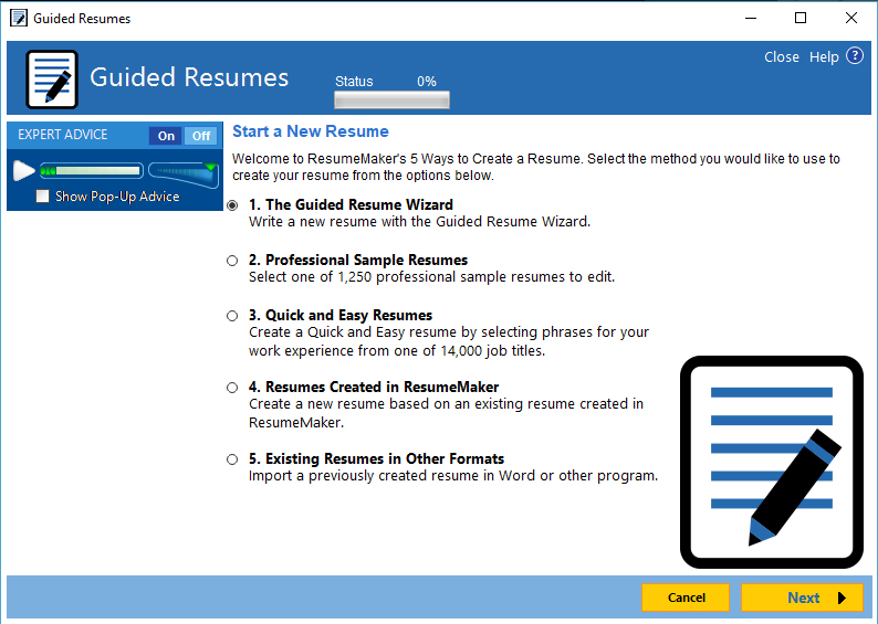 resumemaker professional deluxe 20 interview questions