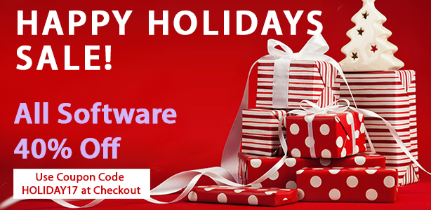 Happy Holidays Sale!