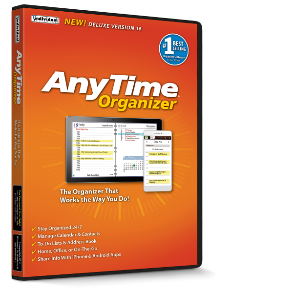 AnyTime® Organizer Deluxe 16